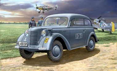 German Staff Car