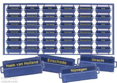 NL Koersborden per. IV set A