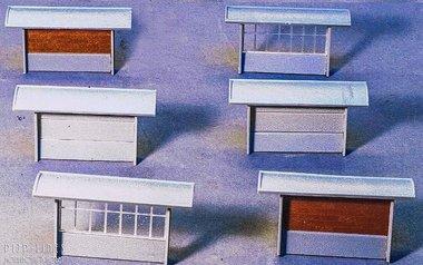 Bouw-set Nederlandse betonnen abri's uit de jaren '60 t/m '80