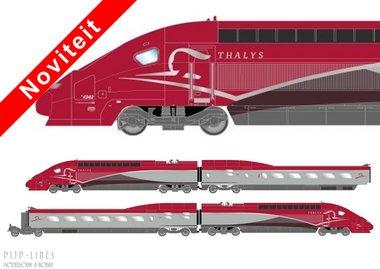 Thalys PBKA. 4-delig LokSound