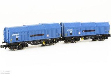 RailLogix set van twee staalwagens Type Shimmns