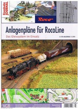 Eisenbahn Journal Anlagenpläne fur RocoLine
