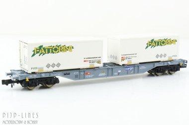 SBB containerdraagwagen Type Sgnns