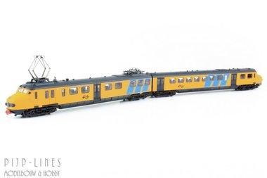 NS Hondekop treinstel geel/grijs. 321