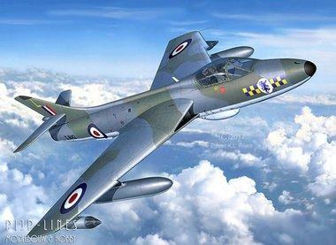 100 Years RAF: Hawker Hunter FGA.9