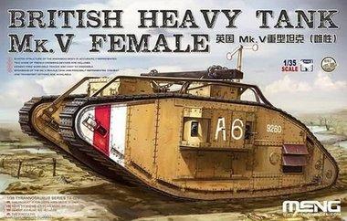 Britse Heavy Tank Mk.V Female