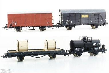 NS goederenwagen set 4-delig