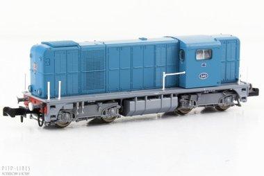 NS diesellocomotief NS 2400 blauw