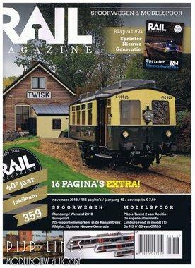 Rail Magazine 359. November 2018