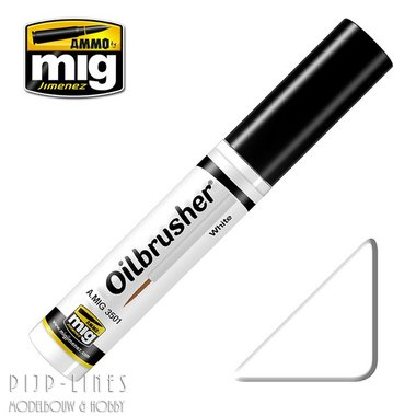MIG Oilbrusher Mig Gimenez White