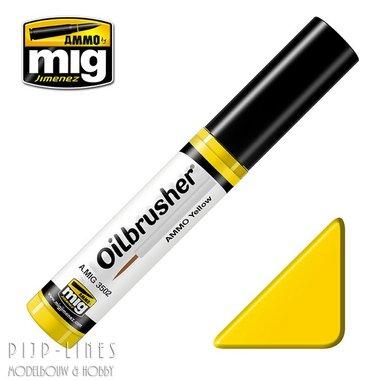 MIG Oilbrusher Mig Gimenez Yellow