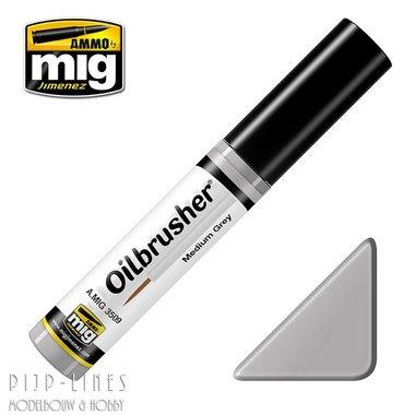 MIG Oilbrusher Mig Gimenez Medium Grey