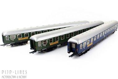 DB Scharnow-reisen rijtuigen set 3-delig
