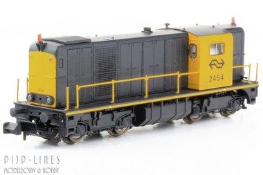 NS Diesellocomotief 2400 geel/grijs Digitaal Sound
