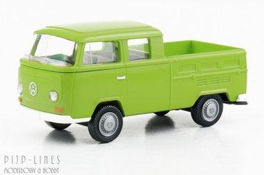 VW T2 bus met open laadbak