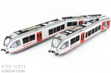 Veolia GTW 2/8 diesel treinstel Nr 360