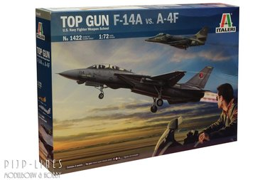 TOP GUN F-14A vs. A-4F