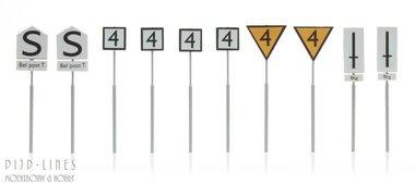 NS Borden Emplacementborden 10 stuks