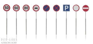 NL Verkeersborden 9 stuks