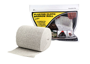 Plaster Cloth Narrow Roll (Gips mat op rol)