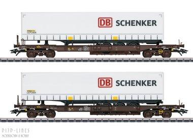 Rail Cargo Austria Set diepladers Type Sdkmms