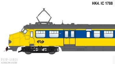 NS Hondekop 4 Nr. 1788 Intercity