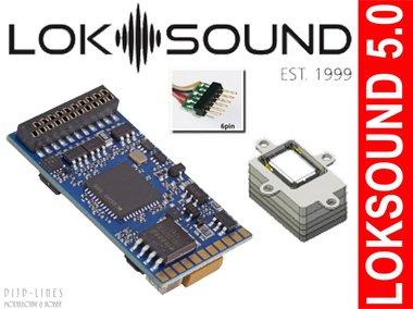 LokSound 5 NEM651 6-polig