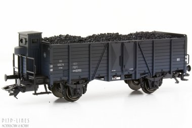 NS open bak wagon met remmershuis Type Om21