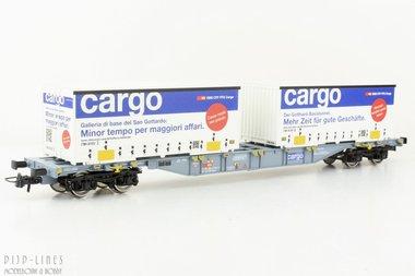 SBB Containerdraagwagen Type Sgnss