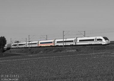 DB-AG ICE 4 tussen rijtuig 2e klas