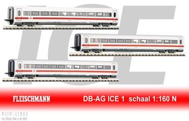 DB ICE 1 uitbreiding set (deel 1)