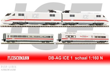 DB ICE 1 basis set 4-delig DCC Digitaal