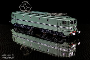 NS E-lok 1305 Turquoise. DCC Digitaal