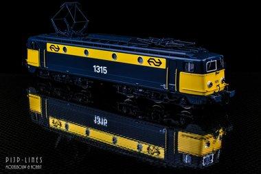 NS E-lok 1315 geel/grijs. DCC Digitaal