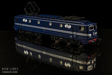 NS E-lok 1310 blauw NS logo A-sein. DC Analoog
