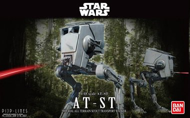BanDai Star Wars AT-ST
