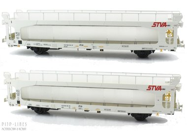 NS STVA autotransportwagen set
