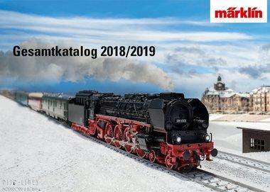 Märklín hoofdcatalogus 2018/2019 NL
