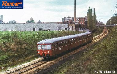 DB Accutrein BR 515. Motorwagen met stuurwagen