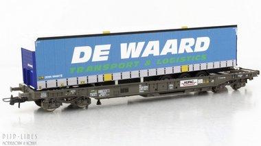 SBB HUPAC wagen DE WAARD trailer Type Sdkmms