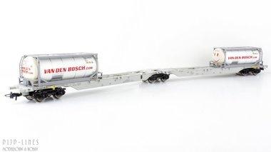 NL AAE dubbele containerdraagwagen