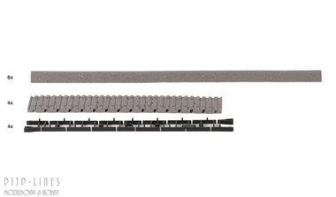 Roco-Line Bedding voor Houten Flex-Rails