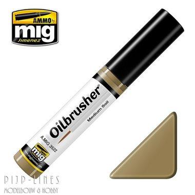 MIG Oilbrusher Mig Jimenez Medium Soil
