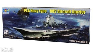 PLA Navy type 002 vliegdekschip
