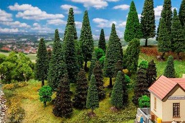 30 gemengde bomen