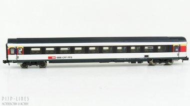 SBB 1e klas sneltreinrijtuig ICN