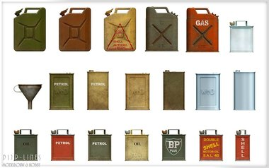 Allies Jerry Cans set WW2