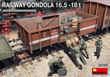 Spoorweg Gondola 16,5-18t