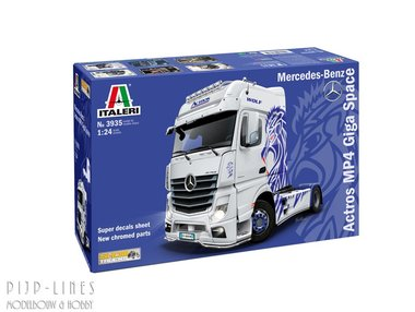 Mercedes-Benz ACTROS MP4 Giga Space