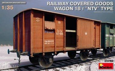 Spoorweg gesloten wagen Type 18t